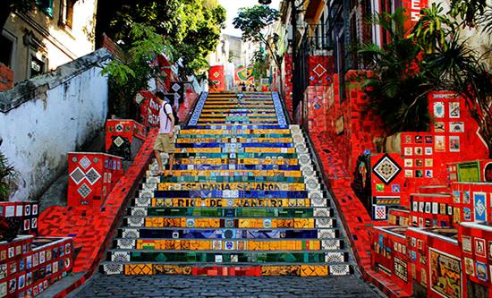 Rio-de-Janeiro-Escaleras